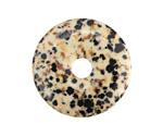 Dalmatian Jasper Donut 30mm