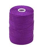 C-Lon Grape Fine Weight (.4mm) Bead Cord