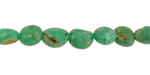 Chrysoprase (w/ brown) Tumbled Nugget 7-10x5-9mm