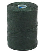 C-Lon Forest Green Micro (.12mm) Bead Cord