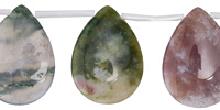 Fancy Jasper Teardrop 22x30mm