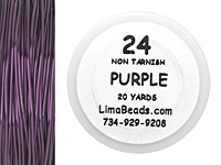 Parawire Purple 24 Gauge, 20 Yards