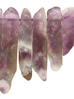 Dogtooth Amethyst Graduated Sticks & Spears 10x25-50mm