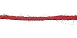 Red 3mm Hemp-Wrapped Wire