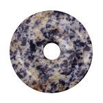 Brazil Sodalite Donut 40mm