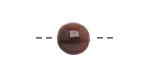 Tagua Nut Espresso Round 11-12mm