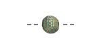 Zola Elements Patina Green Brass (plated) Basket Round 9mm