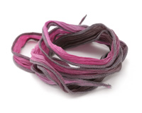 """What's New Pussy Cat Hand Dyed 100% Silk Ribbon 1/2"""""""
