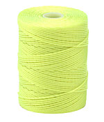 C-Lon Neon Yellow (.5mm) Bead Cord
