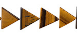 Tiger Eye Triangle 11-12x13mm