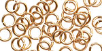 Bronze Jump Ring 7mm, 16 gauge