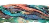 "Monet Hand Dyed 100% Habotai Silk Ribbon 1/2""-1"""