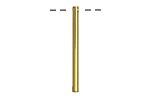 Gold (plated) Bar Drop 2x29mm