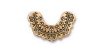 TierraCast Antique Gold (plated) Marrakesh Link 23x17mm