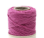 Bright Pink Hemp Twine 20 lb, 205 ft