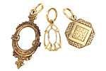 Vintaj Vogue Deco Charms Assortment