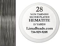 Parawire Hematite 28 Gauge, 15 Yards