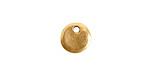 Nunn Design Antique Gold (plated) Primitive Circle Charm 10mm