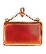Patricia Healey Copper Rectangle Bezel 43x41mm