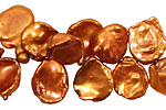 Rust Keishi Drop 10-11x15-18mm