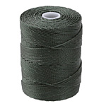 C-Lon Forest Green (.5mm) Bead Cord