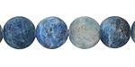 Pacific Blue Apatite (matte) Round 12mm