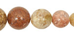 Autumn Agate Round Graduated 6-18mm