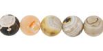 Blaze Agate (matte) Round 10mm