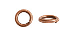 Nunn Design Antique Copper (plated) Etched Jump Ring 12mm