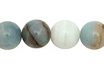 Black Gold Amazonite Round 14mm