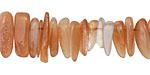 Peach Moonstone (AA) Pebble Drops 3-5x10-12mm
