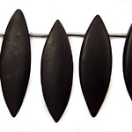 Brazil Black Stone (matte-finish) Graduated Spear 12x25-15x49mm