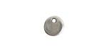 Nunn Design Antique Silver (plated) Primitive Circle Charm 10mm