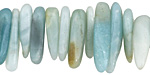 Amazonite Large Chip Drops 3-6x14-25mm