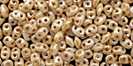 Opaque Luster Picasso SuperDuo 2x5mm Seed Bead