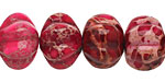 Ruby Impression Jasper Pumpkin 13x18mm