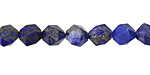 Lapis Star Cut Round 7-8mm