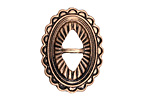 Zola Elements Antique Brass (plated) Southwest Concho 22x29mm