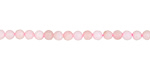 Pink Opal (light) Faceted Round 3mm