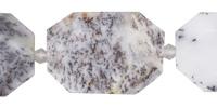 Amethyst Sage Agate Faceted Flat Slab 28-38x22-30mm