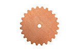Copper Large Closed Gear 25mm