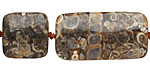 Turritella Agate Thin Pillow & Square Mix 15x15-30mm