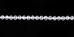 Crystal Clear Cubic Zirconia Faceted Round 3mm