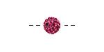 Fuchsia Pave (w/ Preciosa Crystals) Round 8mm