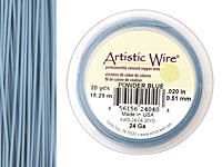 Artistic Wire Powder Blue 24 gauge, 20 yards