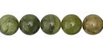 Green Serpentine Round 10mm