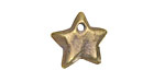 Greek Antique Brass (plated) Star Drop 18mm