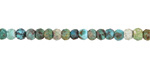 Hubei Turquoise Faceted Rondelle 3x4mm