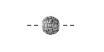 Zola Elements Antique Silver (plated) Woven Round 9mm