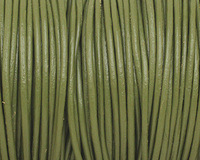 Absinth Round Leather Cord 2mm